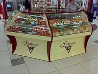 Витрины для  конфет и шoколадной продукции