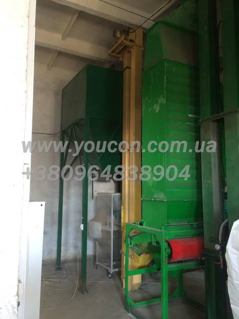 Остывшую и сформированную гранулу подают норией в бункер накопитель готовой продукции, для дальнейшей фасовки