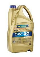 RAVENOL масло моторное 5w-30 FEL /PSA B71 2290, Toyota 08880-83388/ - 5 л