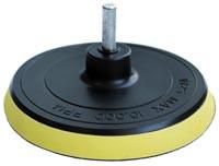 Насадка под круги на липучках 125 мм для дрели или УШМ