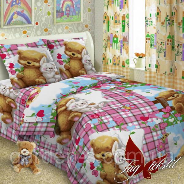 Комплект постельного белья Детство ТМ TAG 1,5 спальный комплект Наволочка 70х70 см., Стандартный 150х215 см.