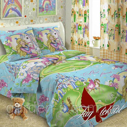 Комплект постельного белья Best friends  ТМ TAG 1,5 спальный комплект, фото 2