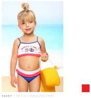 Яркий детский купальник Keyzi модель  Rabbit