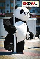 Надувной костюм Панда, пневморобот на прокат, фото 1