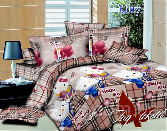 Комплект постельного белья Kitty ТМ TAG 1,5 спальный комплект, фото 2