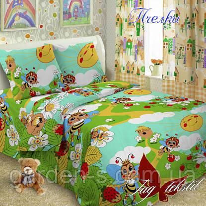 Комплект постельного белья Пчелки  ТМ TAG 1,5 спальный комплект, фото 2