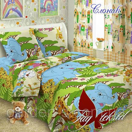 Комплект постельного белья Слоник  ТМ TAG 1,5 спальный комплект, фото 2