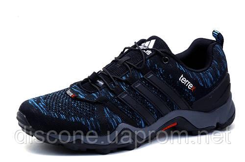 Кроссовки мужские Adidas Terrex, черные, текстиль