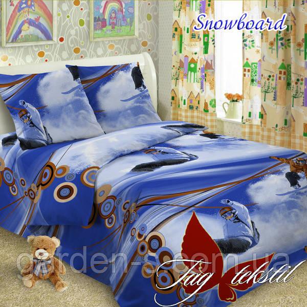 Комплект постельного белья Snowboard ТМ TAG 1,5 спальный комплект