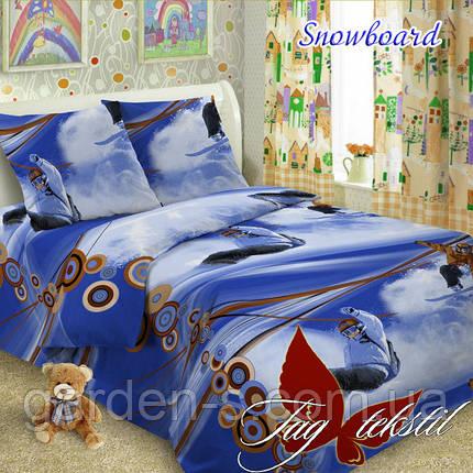 Комплект постельного белья Snowboard ТМ TAG 1,5 спальный комплект, фото 2