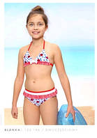 Яркий детский купальник Keyzi модель Blanka рост 146