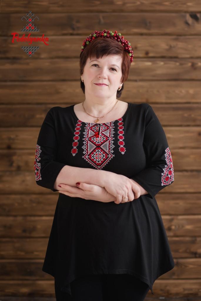 Жіноча туніка Традиційна червона 586ba2aa03b9c