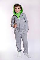 Детский спортивный костюм для мальчика салатовый