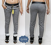 Штаны женские модные с карманами норма