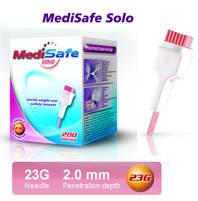 Ланцет автоматичний MediSafe Solo 23G (200 шт.)