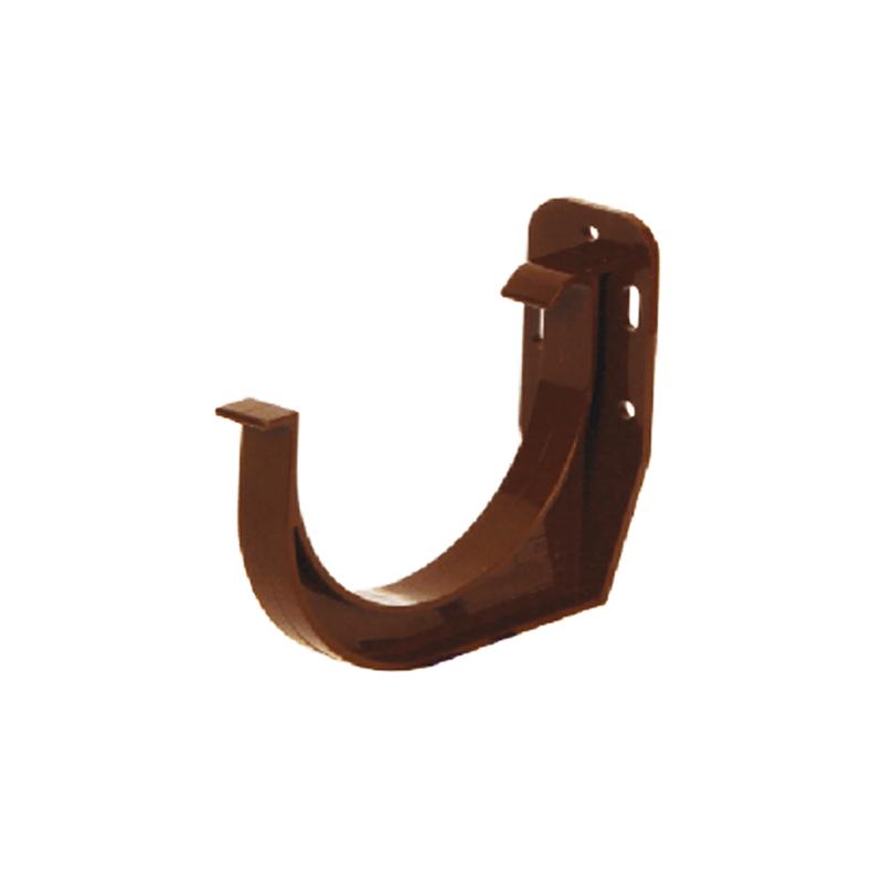 Кронштейн желоба ПВХ. Водосточная система Izabella 128/100