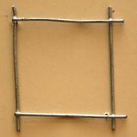 Сетка сварная 50х50х1.8 мм с повышенной защитой от коррозии ТМ Казачка для клеток, животных и птиц, для кролей