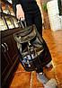 Женский молодежный рюкзак из кожзама, фото 2