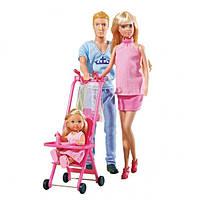 Кукольный набор Happy Family Семья Штеффи беременная