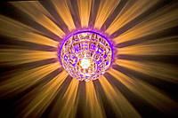 Светильник точечный декоративный Feron JD87 G-9  с RGB подсветкой