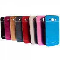 Бампер алюминиевый для Samsung Galaxy S3 I9300 - Motomo Line Series, разные цвета