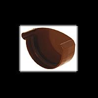 Заглушка для желоба левая. Водосточная система Izabella 128/100