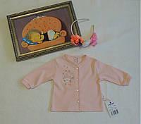 Кофточка для новорожденной девочки