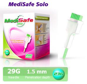 Ланцет автоматичний MediSafe Solo 29G (200 шт.)