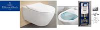 5614R001 SUBWAY 2.0 Direct Flush унитаз подвесной с крышкой Slim s/с  + Инсталяция GEBERIT 458.161.21.1