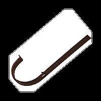 Кронштейн желоба металлический. Водосточная система Izabella 128/100