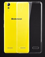 Чехол накладка силиконовый TPU Remax 0.2 мм для Lenovo A6000 прозрачный