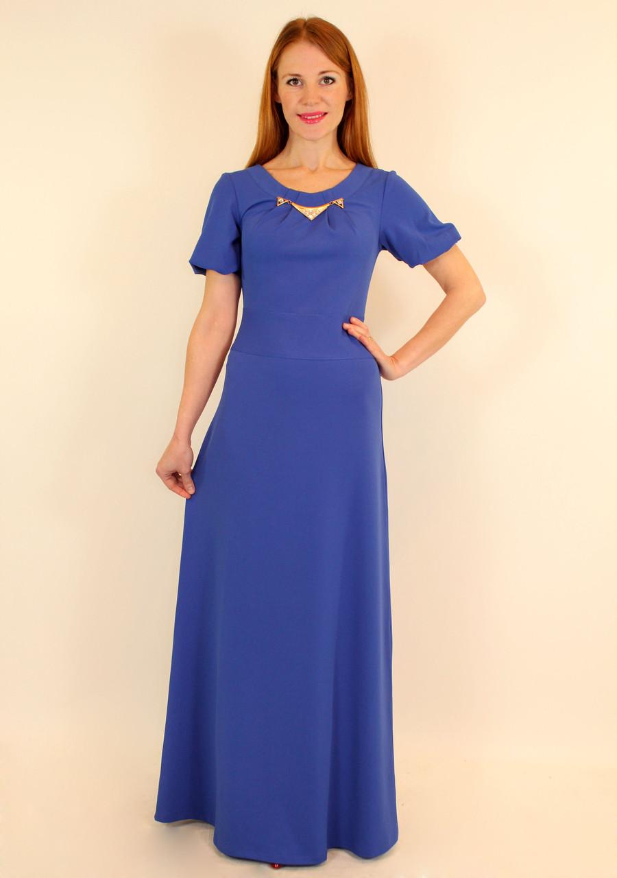 Длинное вечернее платье в пол (электрик, коралловый, темно-синий, ментол ) 6ea4637ab61