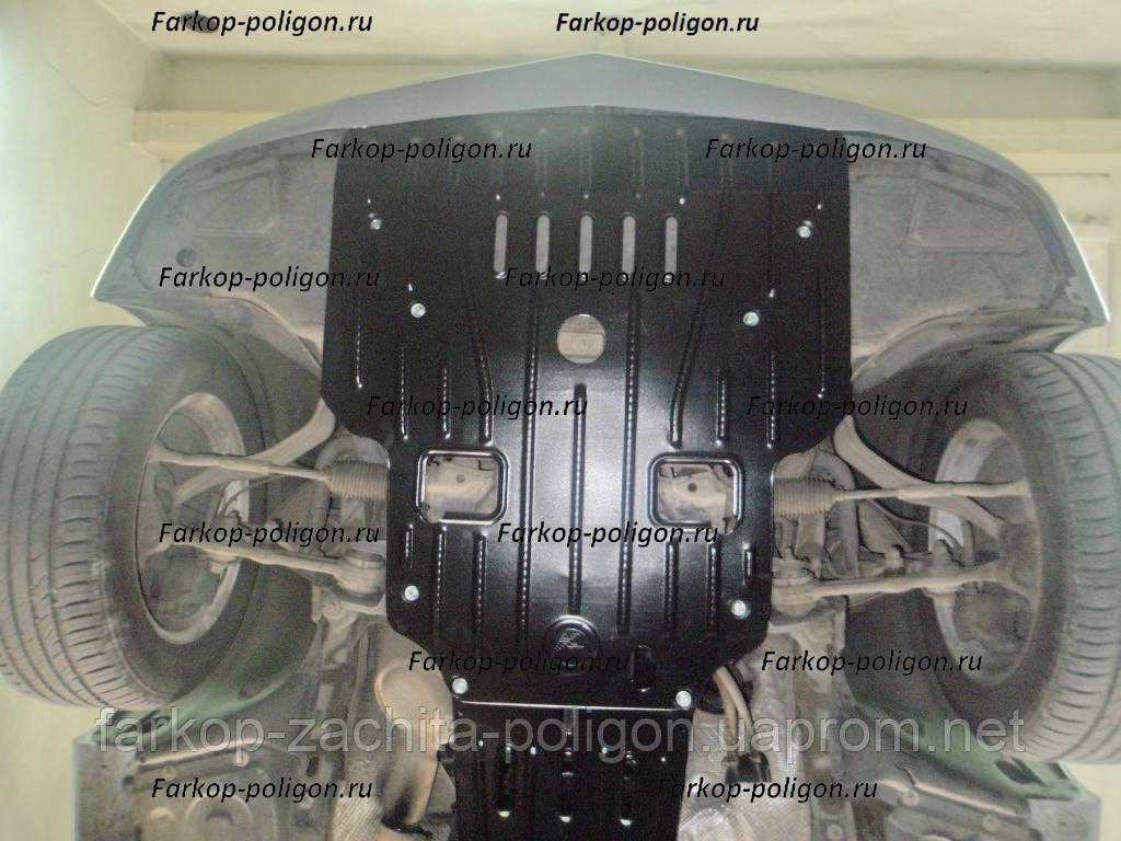 Защита картера MERCEDES-BENZ E211 (на штатный пыльник) v-2,2;2,8;5,0 с 2002-2009г.