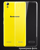 Чехол накладка силиконовый TPU Remax 0.2 мм для Lenovo A7010 Vibe X3 Lite прозрачный