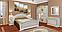 """Спальня , спальний гарнітур """"Ніколь"""" 1,6 м 2сп ліжко з м'яким узголів'ям, фото 3"""