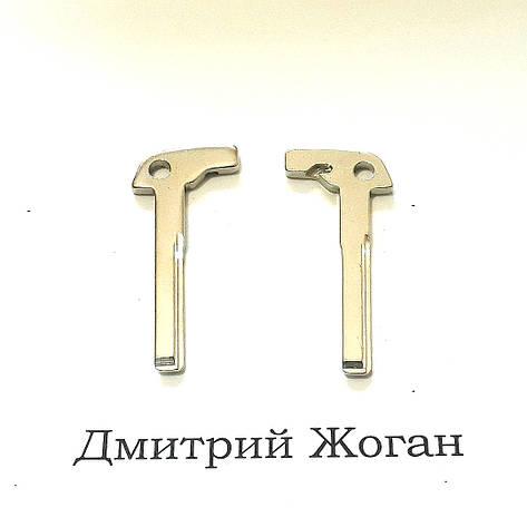 Лезвие для смарт ключа Mercedes (Мерседес), фото 2