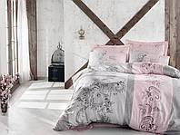 Двуспальный евро комплект постельного белья Cotton Box, сатин, Турция