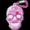 """Брелок для ключей в виде черепа """"Kiss Me"""""""