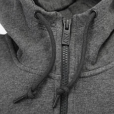 Кофта Nike Club Fz Hoody-Swoosh, фото 3
