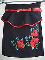 Украинская юбочка на девочку