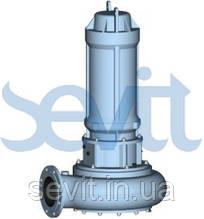 HERBORNER PUMPENTECHNIK Канализационный насос погружной установки UNIGUM-T (UNIVERS-T SG) (тип установки S, T, H, V)