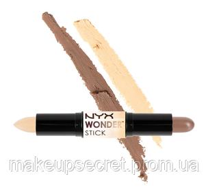 28d052aab70 Хайлайтер и контур NYX Wonder Stick 01 Light/Medium - MakeupSecret в Киеве