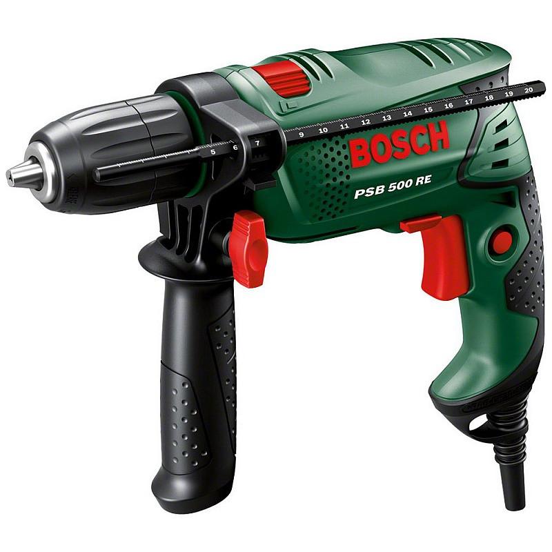 Ударная дрель Bosch PSB 500 RE, 0603127020
