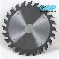 Пилы дисковые подрезные с HW напайками для обработки ПВХ штапика