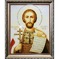 Икона из страз  Александр Невский