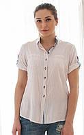 Рубашка летняя из хлопка с коттоном Z 5