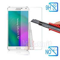Защитное стекло для экрана Samsung Galaxy A7 (a700) твердость 9H, 2.5D (tempered glass)