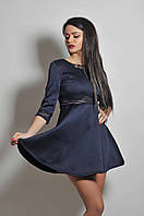 Прелестное платье с прозрачной вставкой на талии, фото 1