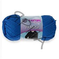 Пряжа Темпо (530-голубой),(Шерсть(25%),Акрил(75%)),Картопу(Туреччина),200(гр),80(м)