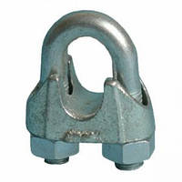 Зажим для стальных канатов (тросов) DIN 741